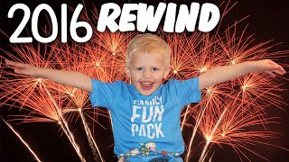 Family Fun Pack 2016 Compilation OUR BIGGEST YEAR YET!!
