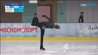 Максим Белявский Короткая программа Первенство Москвы среди юношей и девушек