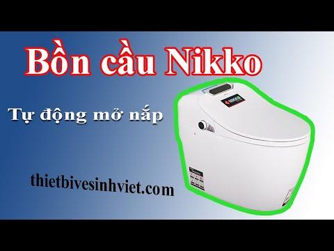 Tổng quan chi tiết bồn cầu Nikko Chính hãng   thietbivesinhviet.com
