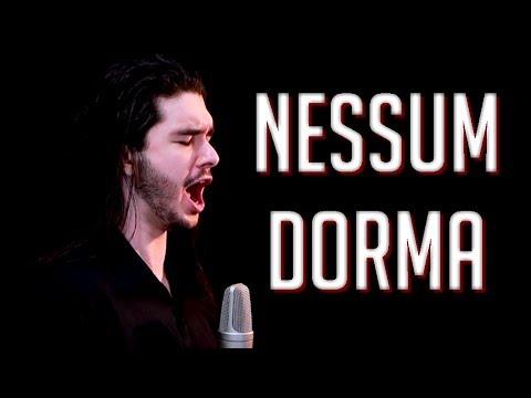 """Nessun Dorma"" - GIACOMO PUCCINI'S TURANDOT cover"