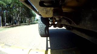 GoPro Test Under jeep