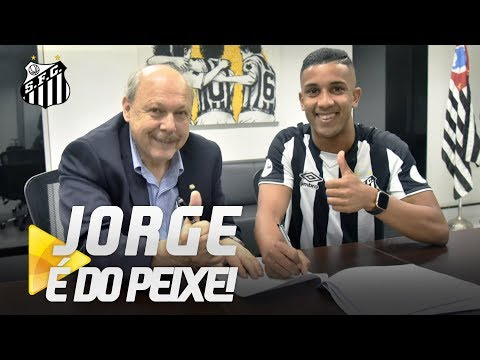 JORGE É O NOVO REFORÇO DO SANTOS