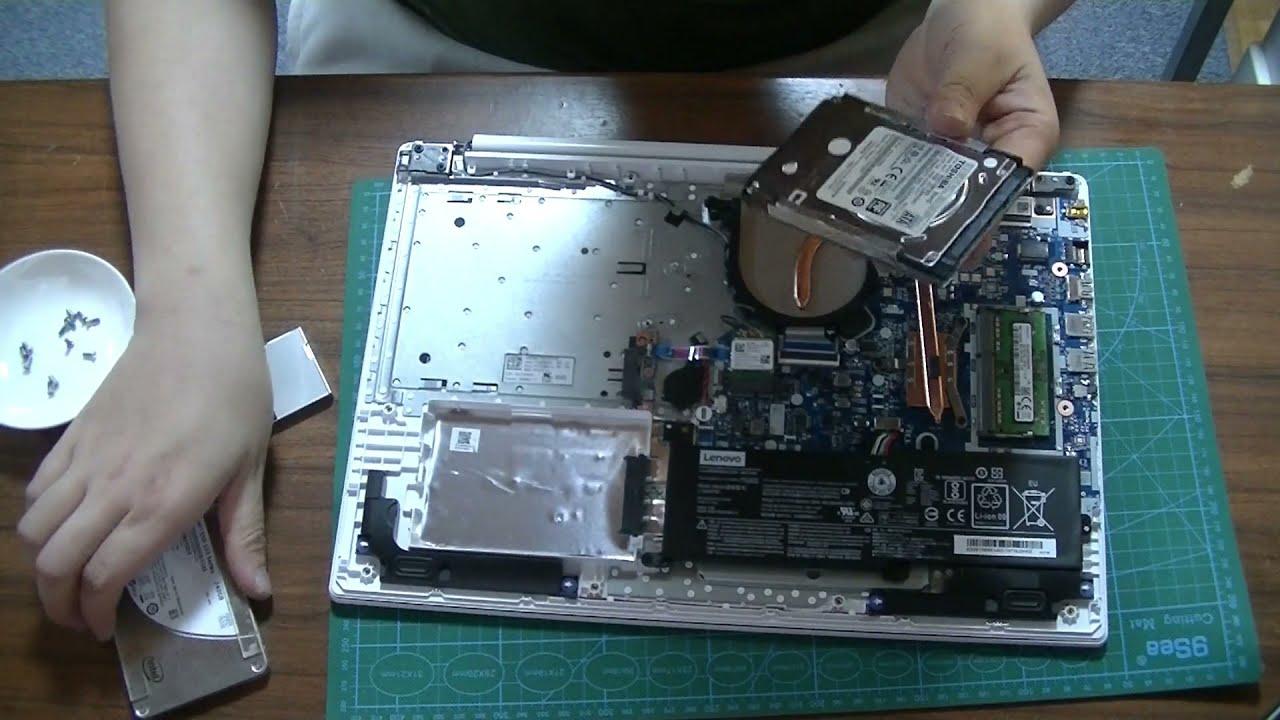 分解_LenovoIdeapad320メモリ交換SSD交換で高速化まだまだ現役-YouTube