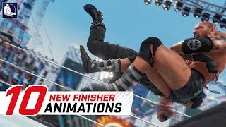 WWE 2K17 Top 10 Funny Finishers Swapping !