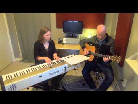 Rockville Piano Lessons - Blackbird Duet with Guitar