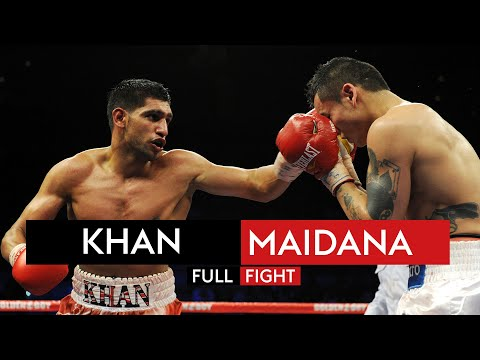 FULL FIGHT: Amir Khan vs Marcos Maidana | 11th December 2010