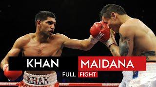 FULL FIGHT: Amir Khan vs Marcos Maidana | 11th December 2010