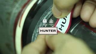 How The Hunter Original Wellington Boots Are Made