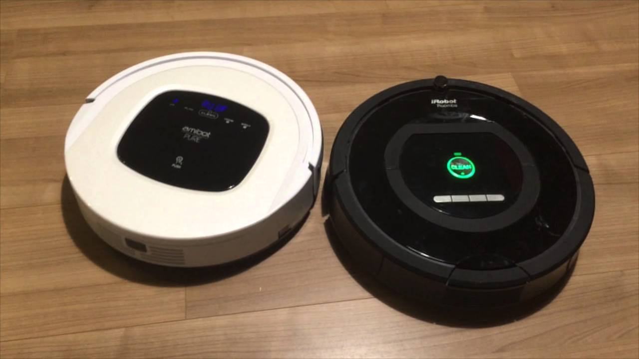 אדיר Domadoo - Comparaison iRobot Roomba 774 VS Amibot Pure H2O - YouTube DL-04