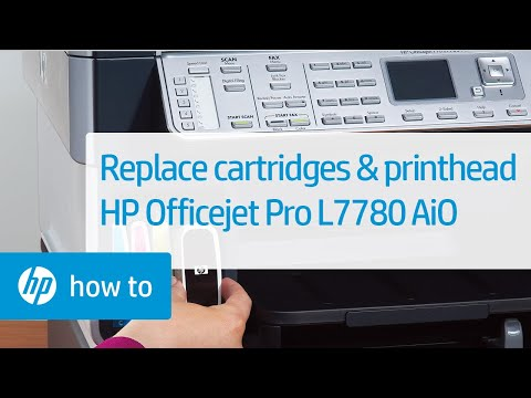 Replacing Cartridges And The Printhead Hp Officejet Pro