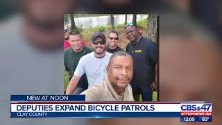 Deputies expand bicycle patrols in Clay County