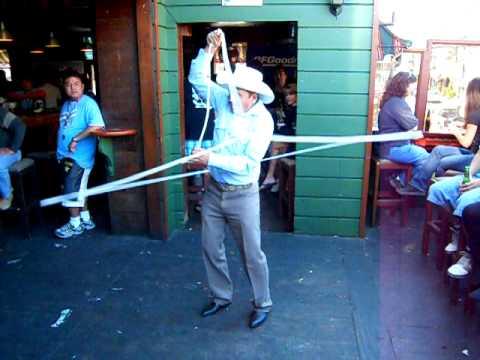 Lasso Guy at Ensenada, Mexico