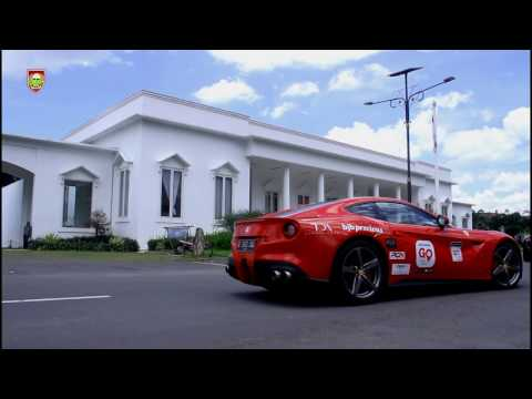Supercar singah di Gedung Putih Kantor Kabupaten Boylali