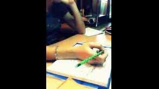 Как я ужасно долго делала уроки