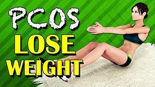 PCOS Exercise To Lose Weight [At Home]