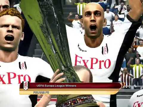 PES 2012- My Fulham Accomplishments 2011/2012 Season