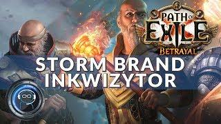 Storm Brand Inkwizytor - poradnik | Path of Exile 3.5