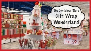 The Container Store's Gift Wrap Wonderland (Holiday Prep 2014) Thumbnail