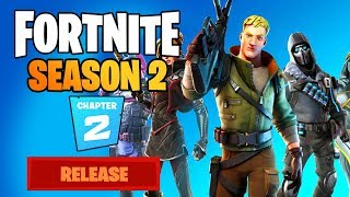 Fortnite Chapter 2 SEASON 2 OFFICIAL RELEASE DATE & NEW 14-DAY EVENT