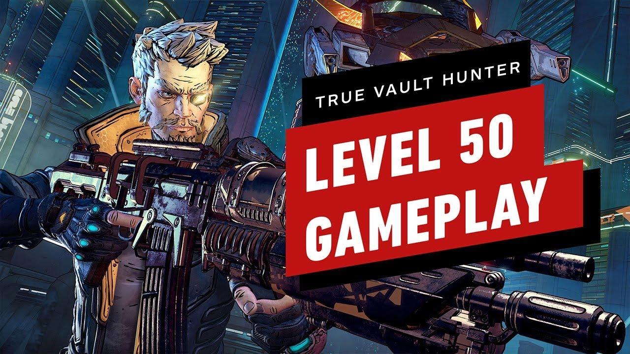 Borderlands 3  Level 50 True Vault Hunter Mode Gameplay - Spoilers