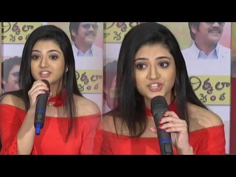 Shriya Sharma Sings Kotha Kotha Bhasha Song From Nirmala Convent   TFPC