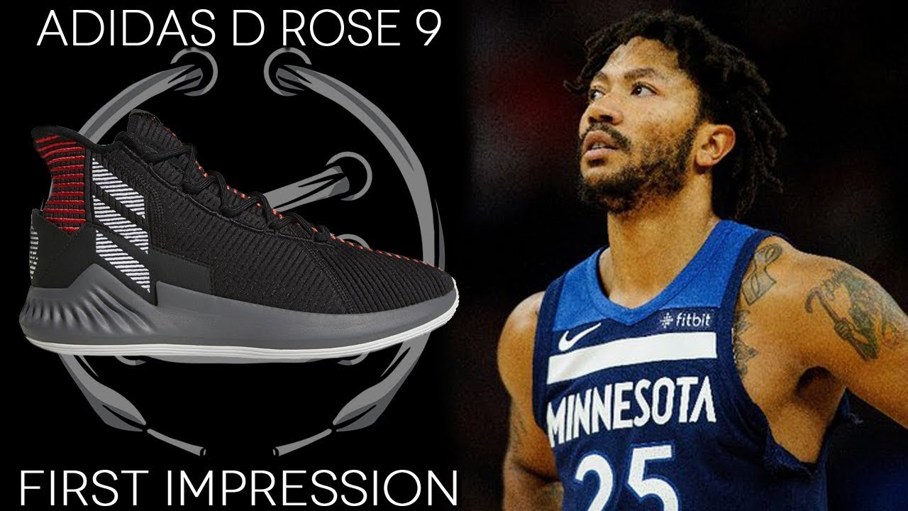 ADIDAS D ROSE 9 FIRST IMPRESSION - YouTube a2b030bff