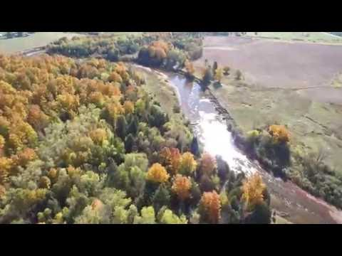 Upper Peninsula Michigan Aerial Fall Color Tour