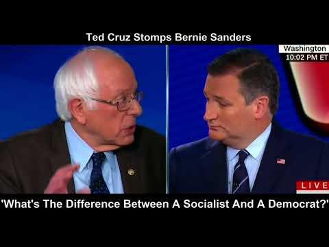 Cruz Stomps Sanders: