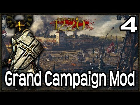 Is This The END! - Total War: Attila 1220 Mod Gameplay #4