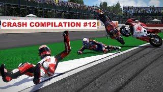 MotoGP 17 | Crash Compilation #12 | PC GAMEPLAY | TV REPLAY Moto2 game