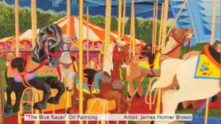 Carousel Art by James Homer Brown - Michigan Painter