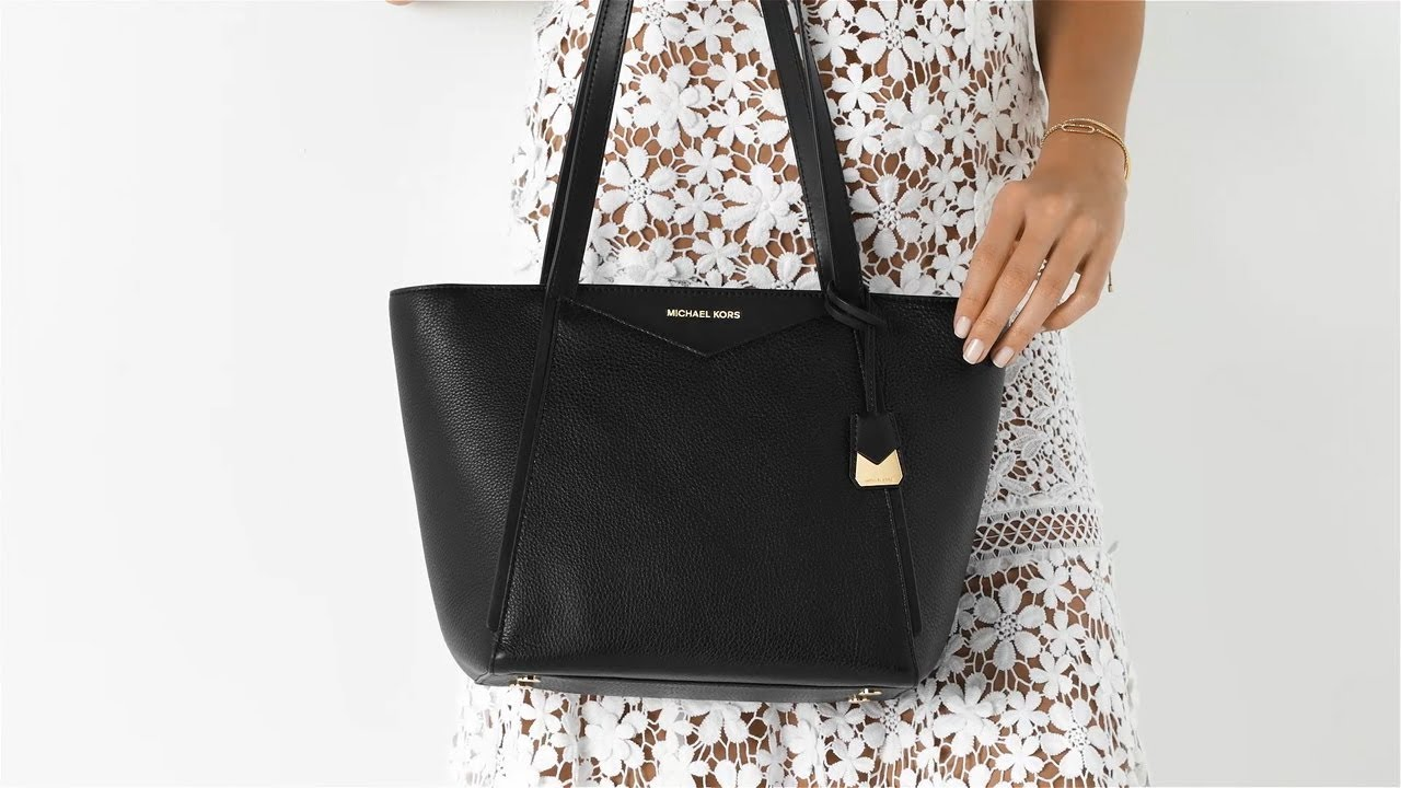 a6a656d47cb7 Michael Kors Whitney Top Zip Tote Small | Tas.nl - YouTube