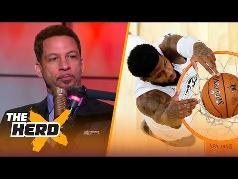 Chris Broussard on Kobe's comments on recruiting Paul George and NBA All-Star recap | THE HERD