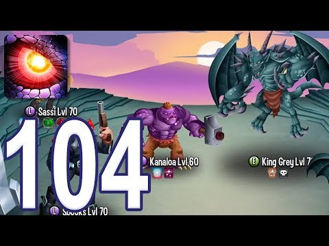 Monster Legends - Gameplay Walkthrough Part 104 - Adventure Map: Levels 116-120 (iOS, Android)