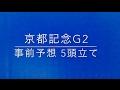 【競馬】京都記念 G2 2017 事前予想