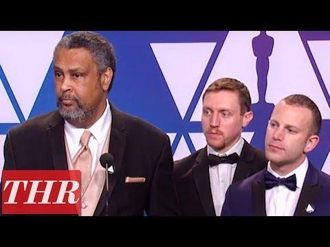 Oscars Winners for 'BlacKkKlansman' Full Press Room Speeches   THR