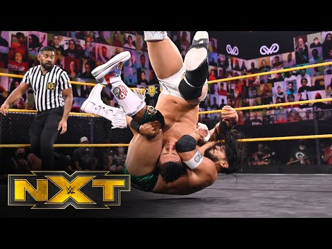 Santos Escobar vs. Jake Atlas – NXT Cruiserweight Championship: WWE NXT, Nov. 11, 2020