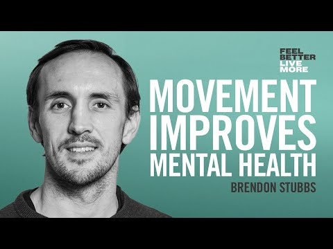 How Exercise Changes Your Brain and Reduces Your Risk of Depression with Brendon Stubbs