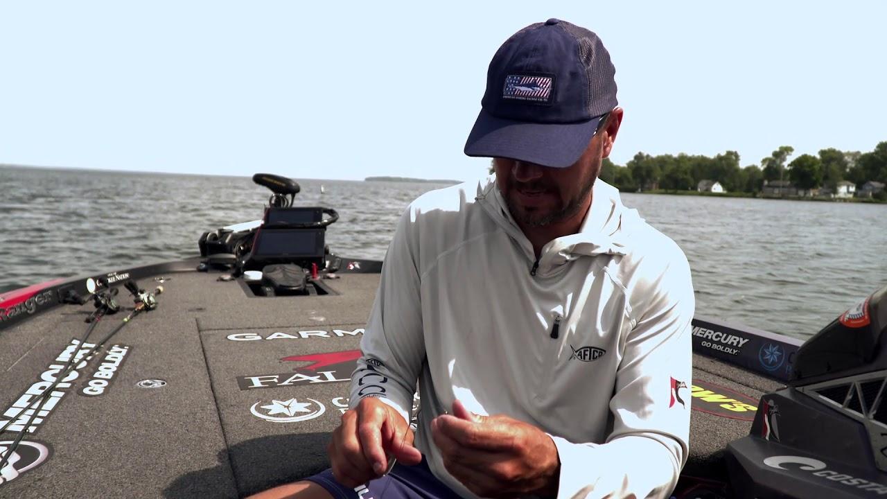 Jason Christie Demonstrates Knot to Use With Braided Line