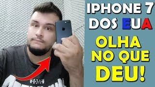 Comprei um IPHONE 7 Nos EUA e OLHA NO QUE DEU - Weget2u