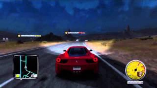 Test Drive Unlimited 2: Ferrari 458 Italia on Xbox 360