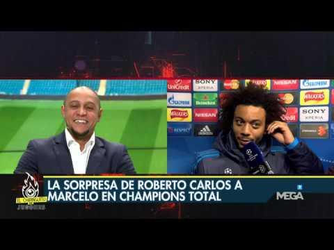 La conversación entre Roberto Carlos y Marcelo, en Champions Total
