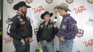 2016 WNFR Go-Round Winners Clayton Haas and Tyler Waguespack thumbnail