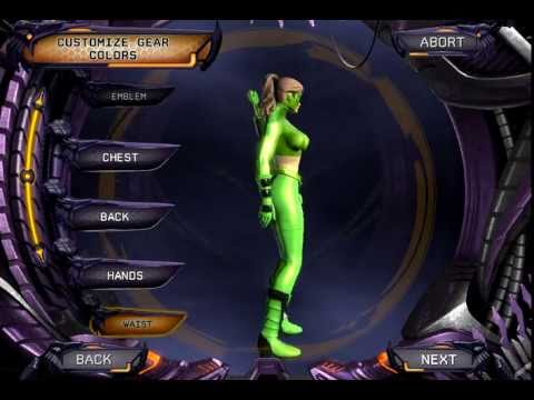 DCUO Character Creation: Artemis Crock