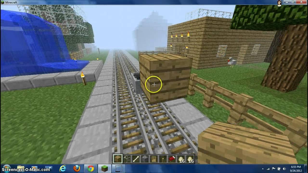My Minecraft Village YouTube - Minecraft spielen lernen