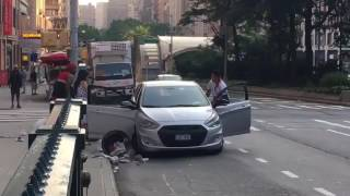 Two Men Fight in the Streets on UWS