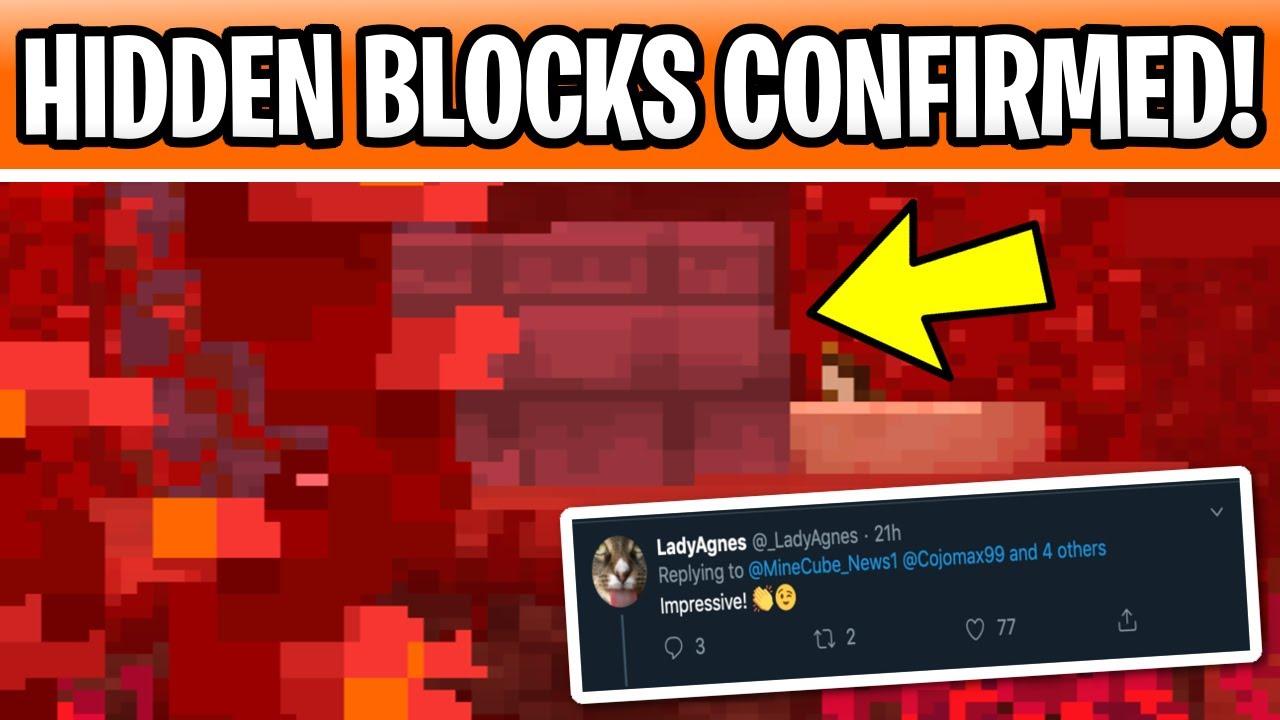 Minecraft 1 16 Hidden Blocks Confirmed New Nether Update Details Youtube