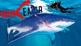 EATING People With ELECTRIC Shark Jaws in Maneater Gameplay!