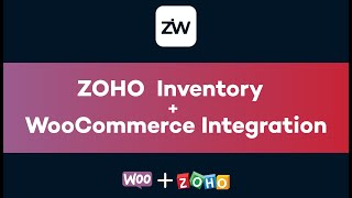 Zoho Inventory for WooCommerce