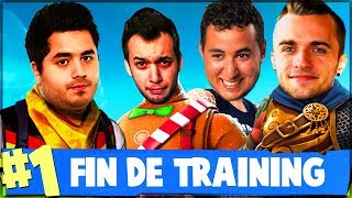 LE TRAINING S'ACHÈVE ! (ft. Squeezie Mickalow Doigby) ► FORTNITE
